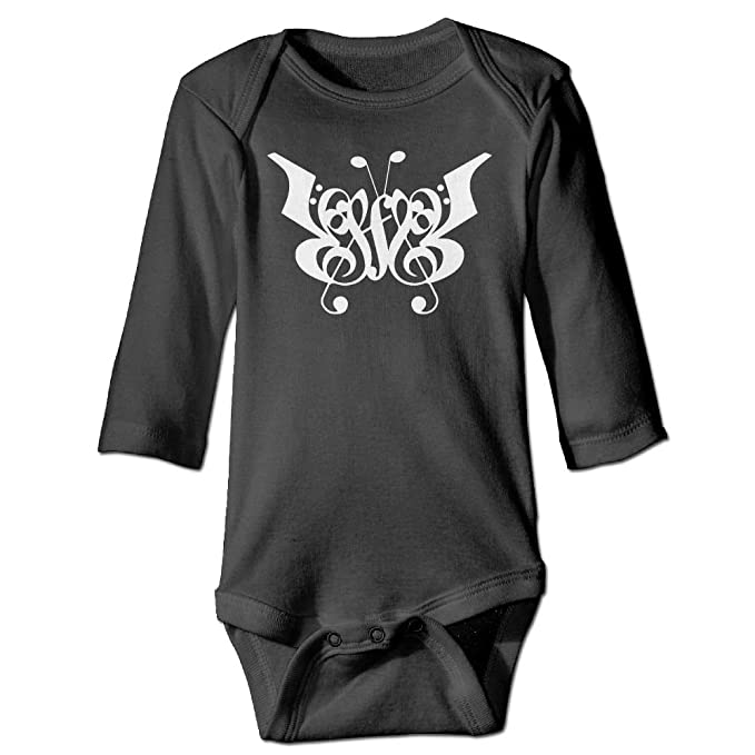 6d414eaa05e Amazon.com  Fashion   Baby Music Note Custom Cute Baby Boy Girls Long  Sleeve Bodysuits Coverall Jumpsuit  Clothing
