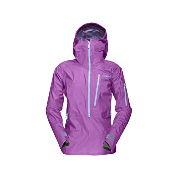 Norrona Lofoten Gore-Tex Active Anorak Jacket - Women s Pumped Purple 8068d2475