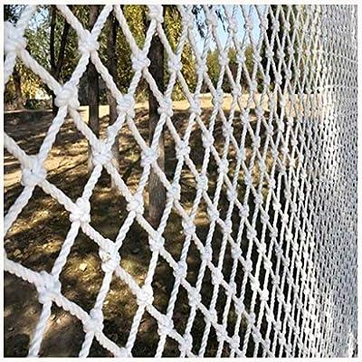 Malla de jardín YINUO Red decorativa Red anticaída Protección adecuada for jardín Balcón Escaleras Barandilla al aire libre Aislamiento de mascotas Red tejida Escalada de hamaca Cuerda Red de producto: Amazon.es: Deportes