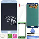 J7 PRO LCD Screen Replacement Touch Display Digitizer Assembly (Blue) for Samsung Galaxy J730 2017 J730G J730F SM-J730F…