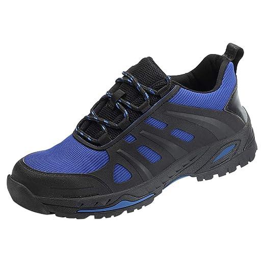 ღLILICATღ Zapatos de Seguridad para Hombre, Puntas de Acero ...