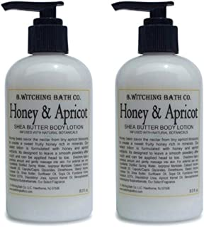 product image for B. Witching Bath Co. Honey & Apricot Shea Butter Lotion - 8 oz. - 2 PACK!
