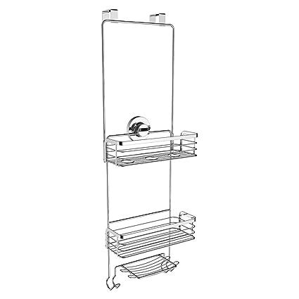 Amazon.com: Vidan Home Solutions Over the Door Shower Caddy ...
