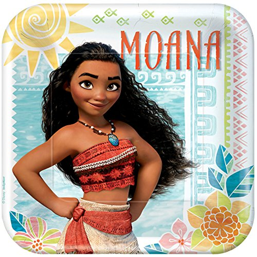 "Discount American Greetings Moana 9"" Square Plate (24)"