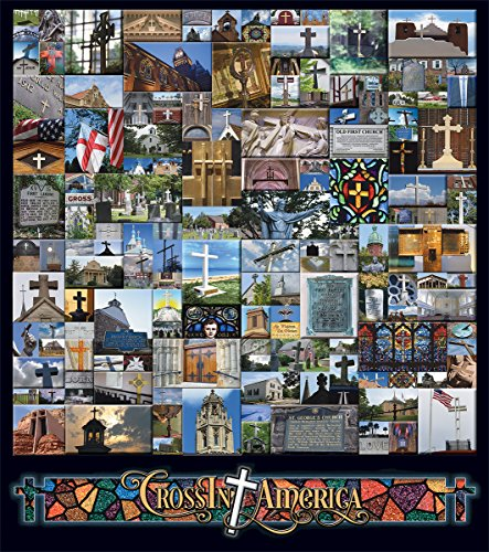 White Mountain Puzzles Crossing America - 1000Piece Jigsaw Puzzle ()