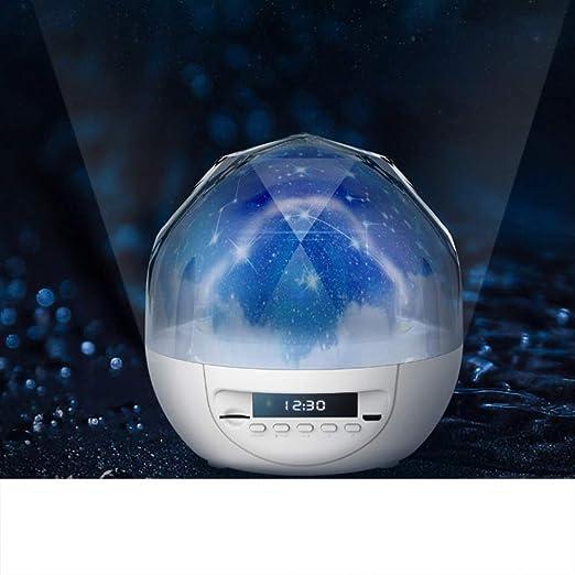 YJDQXKD Iluminación Proyector Estrellas,5 Colores Ligero Tiempo ...