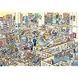 JUMBO Puzzle 01650 Gute Besserung, Jan van Haasteren, 1000 Teile