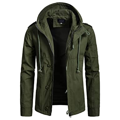 79104b766cc Down Jacket Men Hooded Tall. Men's Autumn Winter Cap Cotton Jacket Men  Fashion Trend Coat