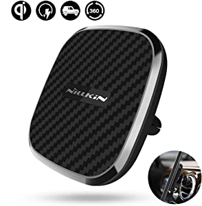 Nillkin Car Magnetic Wireless Charger Mount and Car Magnetic Strong Stickiness Plate
