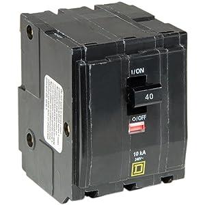 Square D by Schneider Electric QO340CP QO 40 Amp Three-Pole Circuit Breaker,