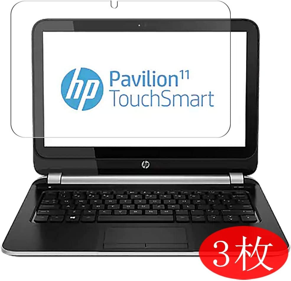 """【3 Pack】 Synvy Screen Protector for HP Pavilion TouchSmart 11-e000/11-e100/e010nr/e006au/e012au/e030sa/e001sa/e030sa/e102au/e115nr/e100ed/e100sf 11.6"""" Film Protectors [Not Tempered Glass]"""