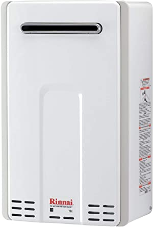 Rinnai V94EN Tankless Hot Water Heater, 9.8 GPM, V94eN-Natural Gas/9.4 GPM