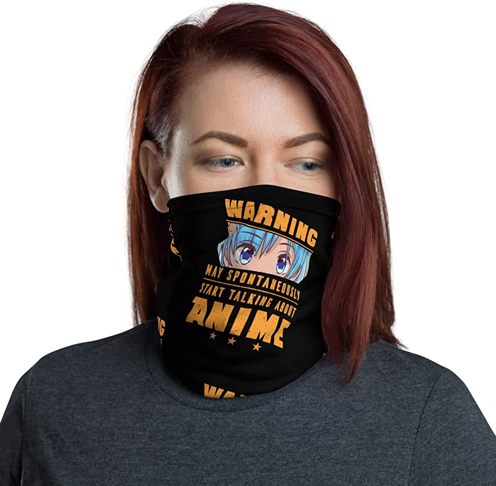 Anime Face Mask Face Mask Cover Warning May Talk About Anime Anime Eyes On Black Neck Gaiter At Amazon Women S Clothing Store Collections animation books fantasy odditees scifi anime heroes & villains comics horror strong women gaming music magical tv shows animals. anime face mask face mask cover