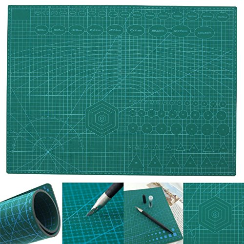 A2 PVC Double Printed Self Healing Cutting Mat Craft Quilting Scrapbooking Board