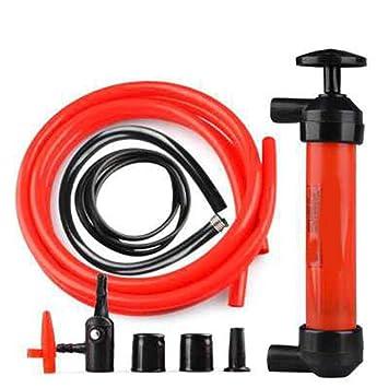 ReFaXi Herramienta Manual portátil de la Bomba de succión del Cambiador de la Gasolina del Aceite del Coche del Aceite 5L / mi: Amazon.es: Coche y moto