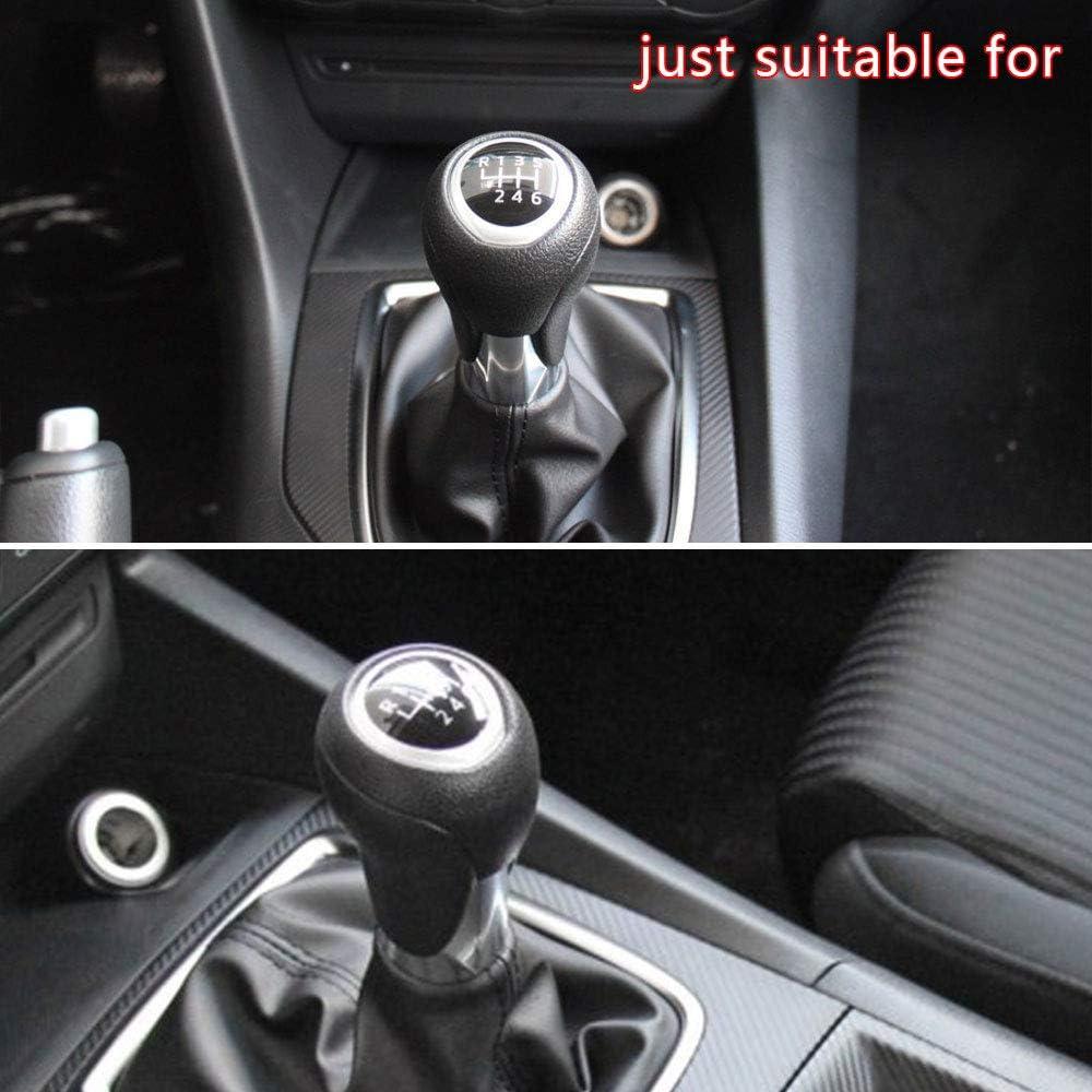 Pommeaux de Leviers de Vitesse Automatique Cuir Couvercle Protecteur pour Axela 09-12 Mazda 8 Mazda 3 09-16 mazda6 03-11 Voiture Automatique Shifter Levier Type A