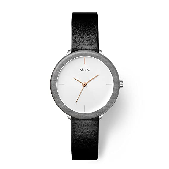 MAM Originals · Stainless Light Maple Night | Reloj de Mujer | Diseño Minimalista | Creado
