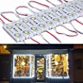 9 FT 40 Leds 5730 Waterproof Led Module Light White with Self- Adhesive Tape Universal LED Daytime Running Light for Retail Store, Shop, Bars