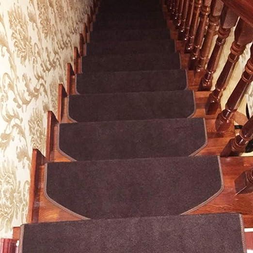 WSZD Almohadillas para escaleras, alfombra antideslizante para peldaños de escaleras, duraderas, para escaleras: Amazon.es: Hogar