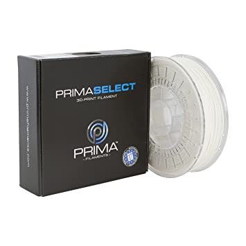 PrimaCreator PrimaSelect - Filamento para impresora 3D, 1,75 mm - 750 g, Blanco, 12