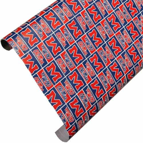 (Ole Miss Team Wrapping Paper)
