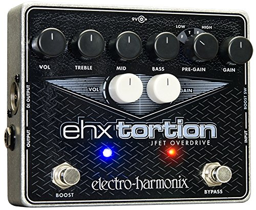 Electro Harmonix Ehx Tortion Jfet Overdrive Guitar Effects Pedal
