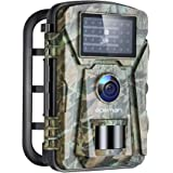 APEMAN Trail Camera 16MP 1080P No-Glow Infrared Night Vision Hunting Camera for Wildlife Monitoring, Garden, Home Security Su