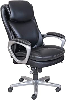 Serta Smart Layers AIR Arlington Chair (Black/Pewter)