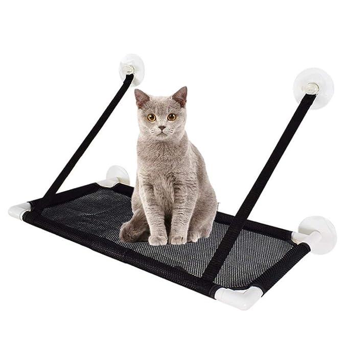 Rhww Hamaca Para Ventana De Gato Con MáS Fuerte SuccióN Tazas Por Grande Gatos, Espacio