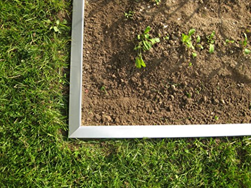 Rasenkante breit 14 cm hoch, 100 cm lang mit Klick-Fix-System