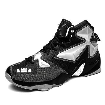 YAN Zapatos Unisex 2018 Otoño Zapatos de Baloncesto Zapatos Deportivos Zapatillas Altas Zapatillas de Cuero Sintético + Oxford Botines de Entrenamiento ...