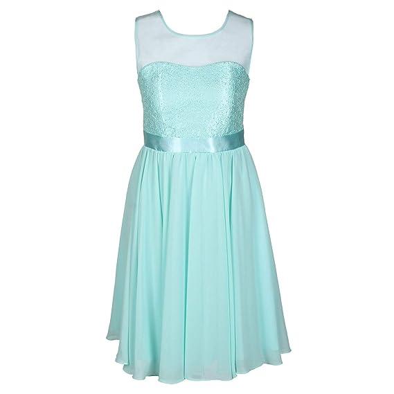 klassisch 2019 am besten verkaufen neueste trends von 2019 Gol G.O.L. - Festliches Chiffon-Kleid mit Stola, Mesh und ...