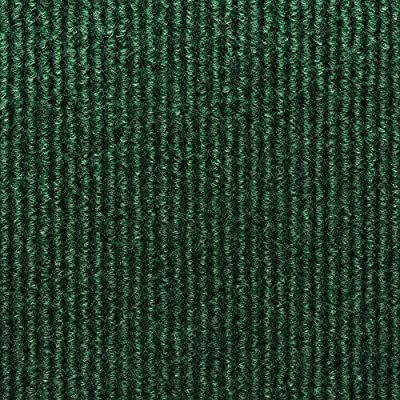 TrafficMaster Sisteron Leaf Green Wide Wale 18 in. x 18 in. Indoor/Outdoor Carpet Tile (10 Tiles/ Case)