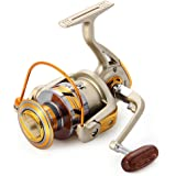 Spinning Fishing Reel,10 Ball Bearings Light and Smooth,1000 to 7000 Series,Left/Right Interchangeable Spinning Reels Saltwater Freshwater Fishing
