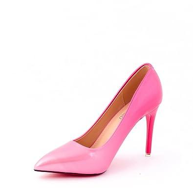 174eec1d6 Dech Barrouci Women's Pink Synthetic Bellies (Size-7): Buy Online at ...