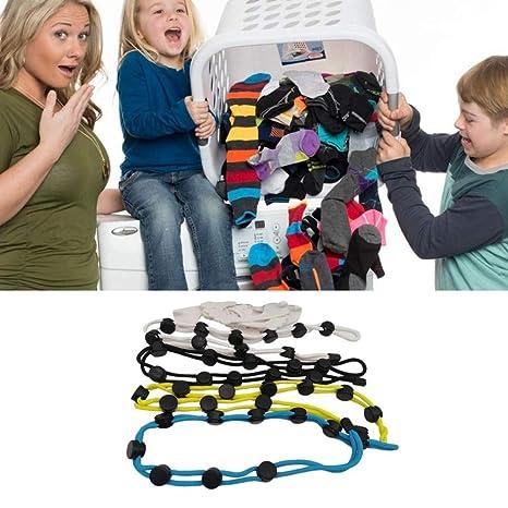 Balight Colgantes Calcetines Herramienta Herramientas de almacenamiento de calcetines Limpieza de calcetines Herramienta auxiliar Calcetines de secado Herramienta Perchas de almacenamiento 4 colores