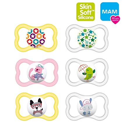 Mam Day & Night mam Air Silicona Chupete 6 - 16 Mo. //mam ...