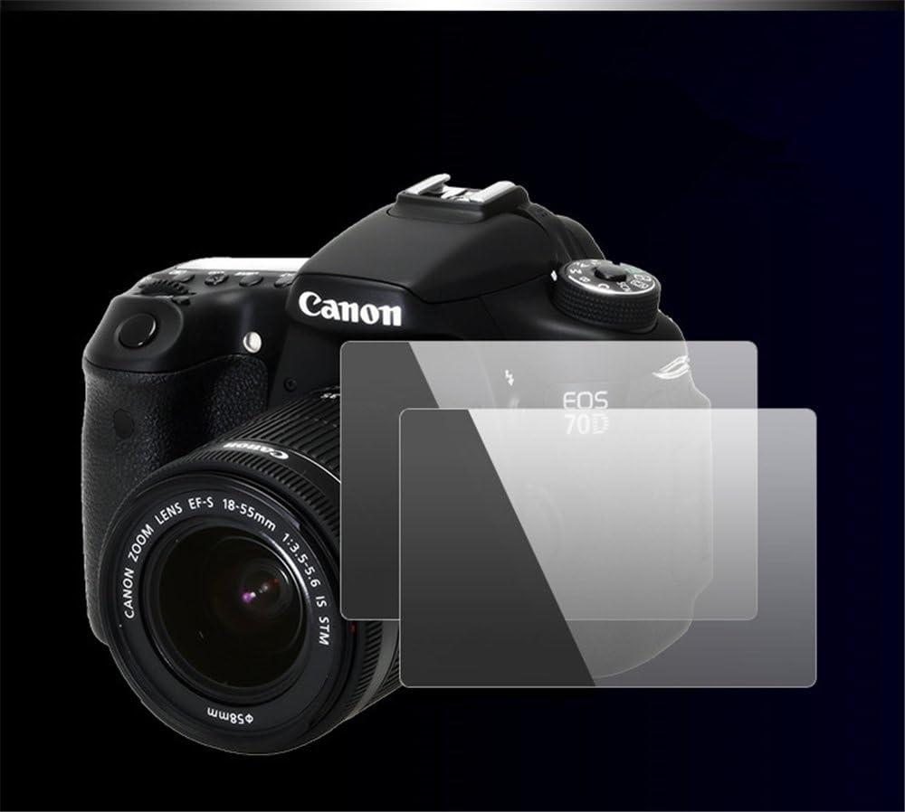 K-30 Screen Protector BolinUS 0.3mm LCD Optical 9H Hard Tempered 2 Pack Anti-scratch Glass Screen Protector Skin Film for Pentax K-30 K-50 Camera