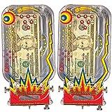 Bilz Retro Pinball Money Machine (Set of 2)
