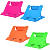 Elimoons Phone Stand, Cell Phone Stand, Universal Foldable Tablet Stand Multi-Angle Pocket Desktop Holder Cradle Compatible P