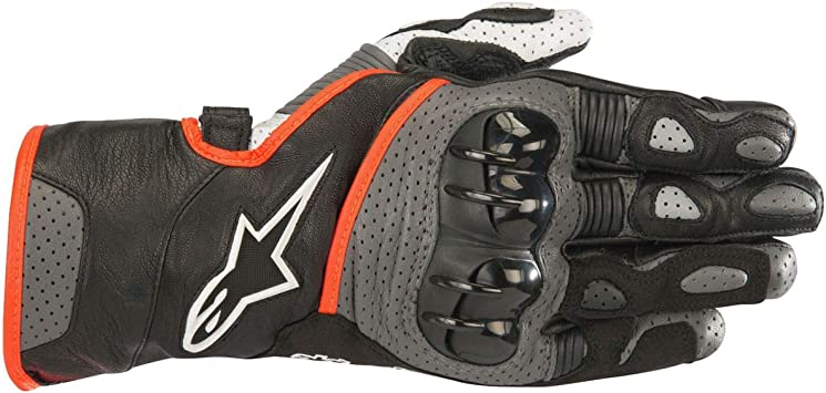 L Black Motorcycle gloves Alpinestars Sp-2 V2 Gloves Black