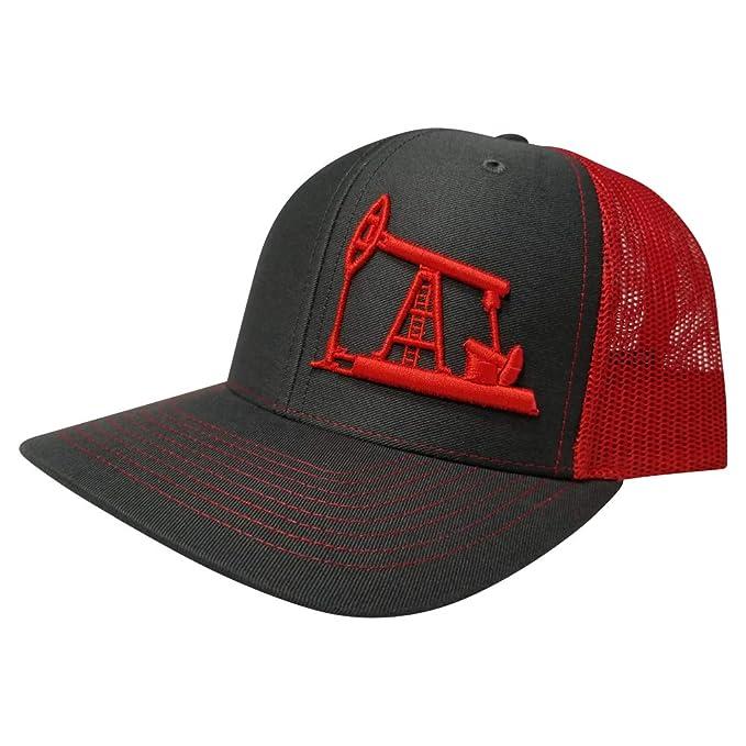 Richardson Oilfield Drilling Rig Snapback Hat Custom Trucker Cap Men ... 035471b28d12