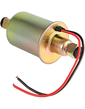 iBàste Bomba electrónica de Aceite, Bomba de Gasolina, Bomba de Gasolina portátil electrónica 12P
