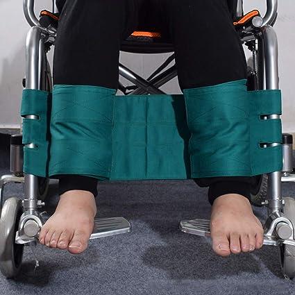 Rziioo Sujetador de piernas para Silla de Ruedas Correa Cinturón de Seguridad, Transporte de Seguridad