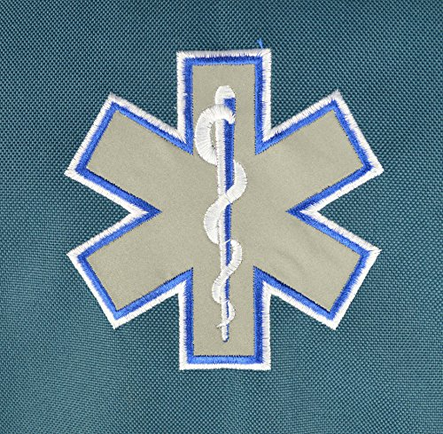 Lightning X Premium Stocked Modular EMS/EMT Trauma First Aid Responder Medical Bag + Kit - Navy Blue by Lightning X Products (Image #4)