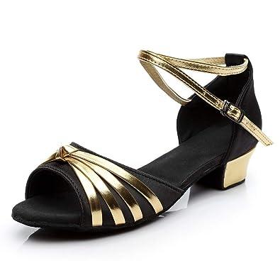 5f6ed0812bba0 Amazon.com | Women Dancing Rumba Sandals - Waltz Prom Ballroom Latin ...