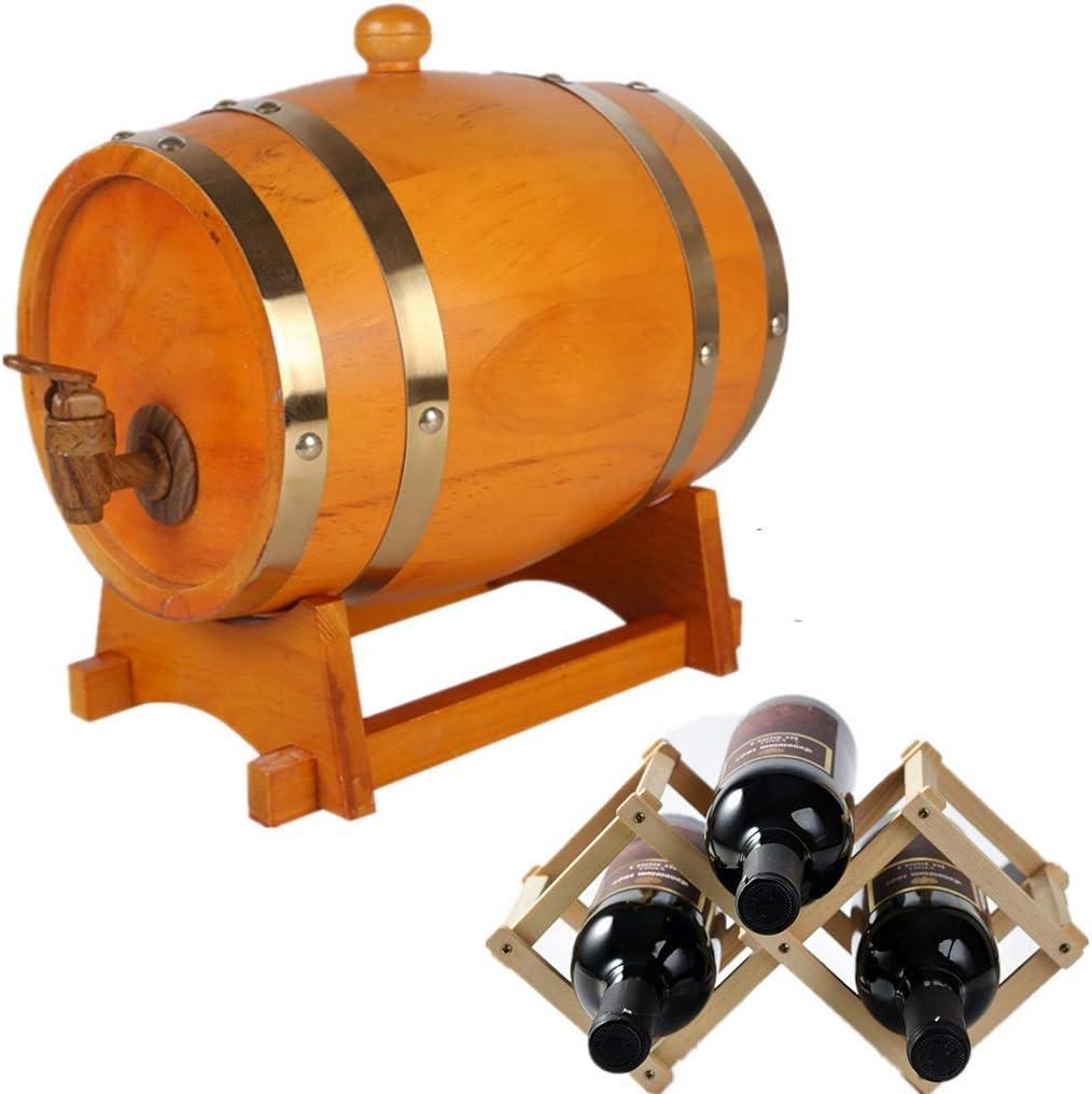 NACK Oak Barrel, Whisky Wine Spirits Ron Storage 1.5L Old Oak ...