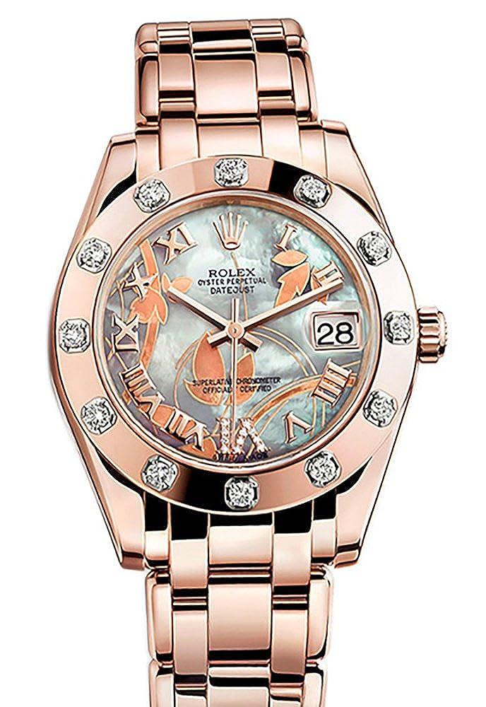 Rolex Pearlmaster 34 Dustin Patrick Runnels Dream Romain Diamants ou ...