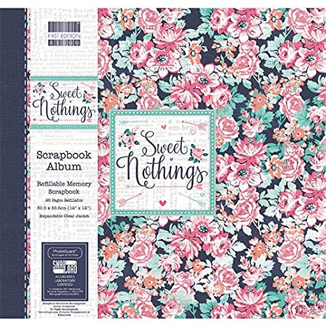 First Edition Wanderlust Scrapbook Album 12x12 Snap Load