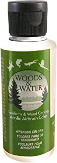 product image for Badger Air-Brush Co. 4-Ounce Woods and Water Airbrush Ready Water Based Acrylic Paint, Detail White
